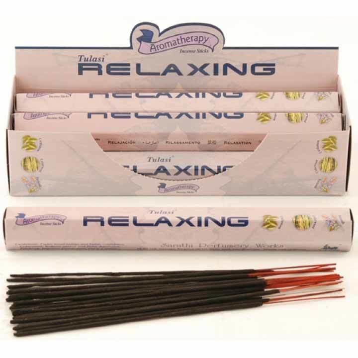 Tulasi Relaxing Incense Pack - 20 sticks