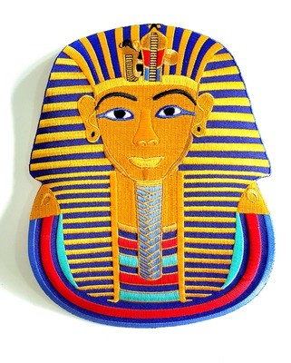 Large King Tut Iron On Patch