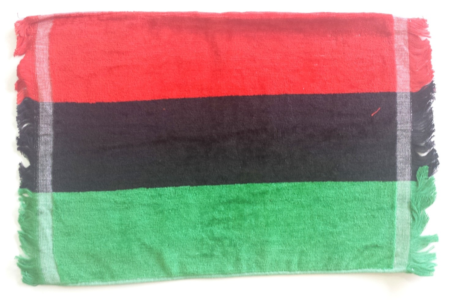 Red, Black & Green Hand Towel