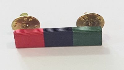 Red, Black, and Green (RBG) Pin