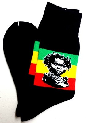 Rasta Baby Dress Socks