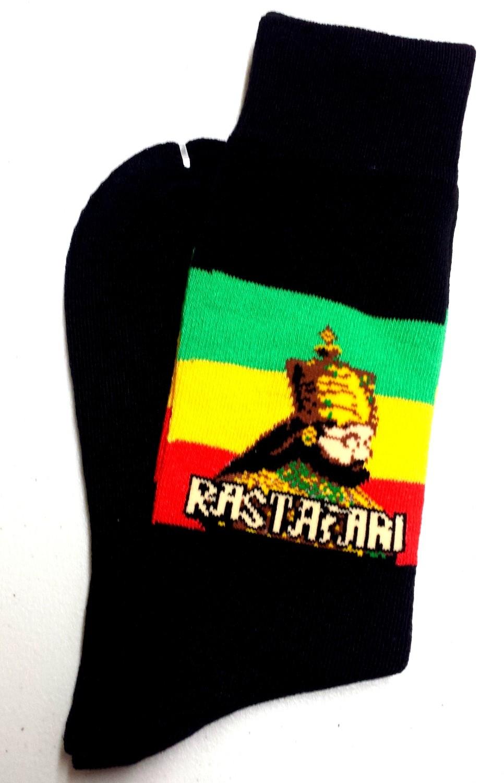 Rastafari Selassie Dress Socks
