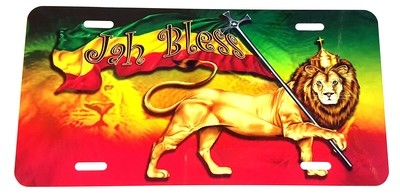 Lion of Judah License Plate