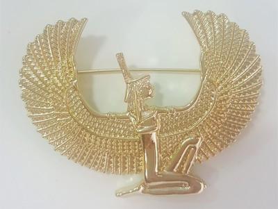 Ma'at Gold Broach