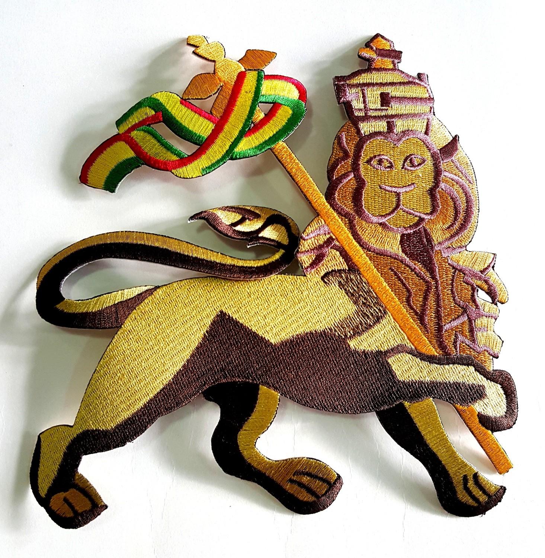 Large Lion Of Judah Patch
