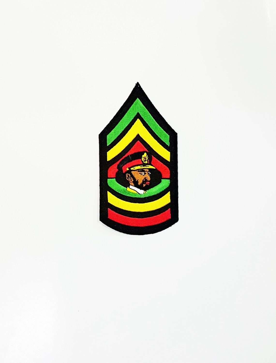 Iron On Patch-Haile Selassie Small Patch
