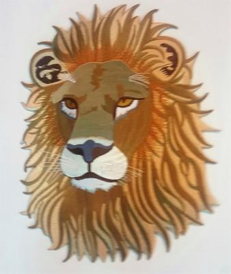 Big Lion Face Patch