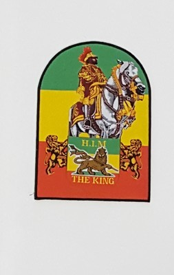 Large H.I.M. The King Patch