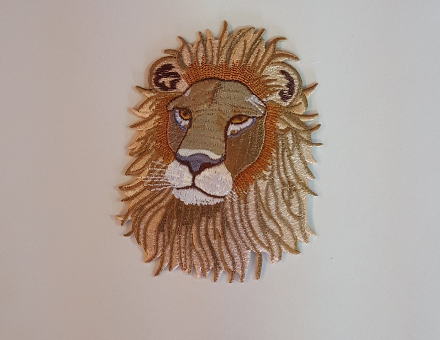 Small Lion Face Patch