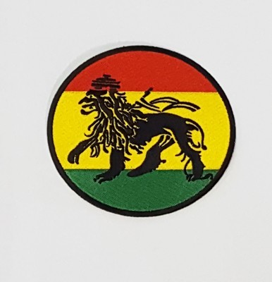 Large Lion of Judah (Red, Yellow, and Green) Patch