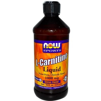 L-Carnitine Liquid Citrus Flavor 1000 mg, 16oz