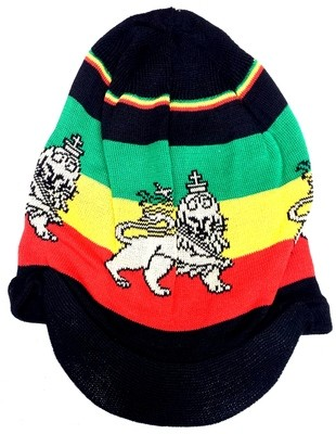 Black Lion of Judah Rasta Hat