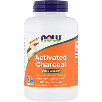 NOW Activated Charcoal powder