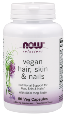 Now Solutions-Vegan Hair, Skin & Nails