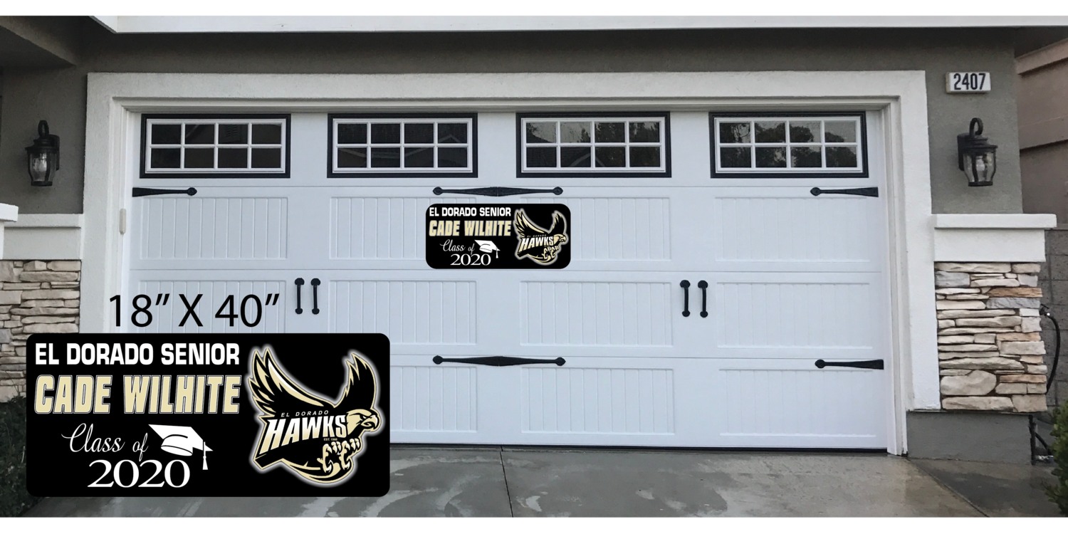 CLASS OF 2020 GARAGE DOOR MAGNET