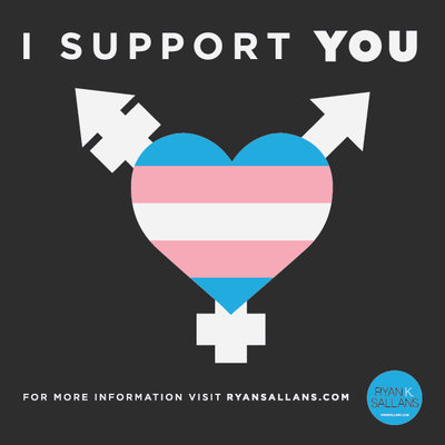 I Support You Card