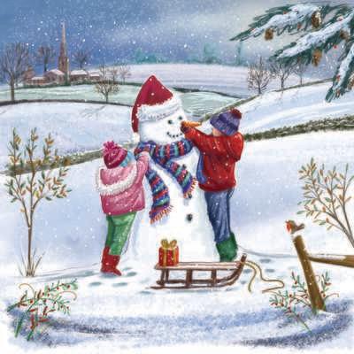Snowman's Little Helpers