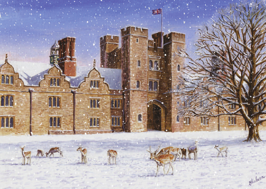 Knole Park in Winter