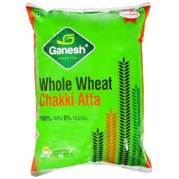 Ganesh Wholewheat Chakki Atta