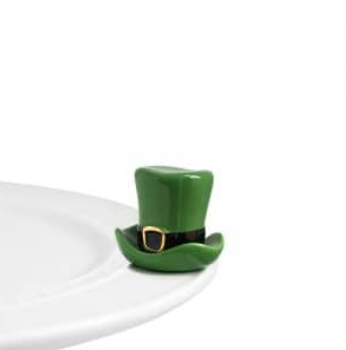 Nora Fleming St Patty Hat Mini