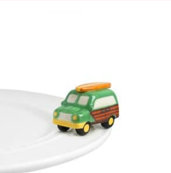 Nora Fleming Surf'S Up Wagon Mini