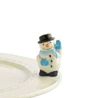 Nora Fleming Frosty Pal Snowman Mini