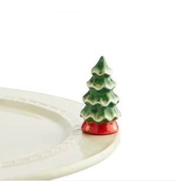 Nora Fleming O Tannenbaum Xmas Tree Mini