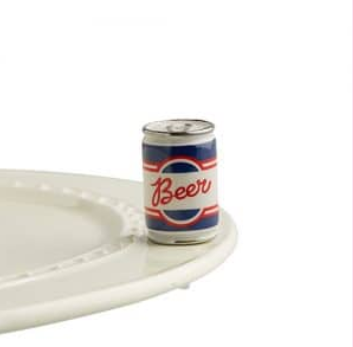 Nora Fleming Beer Me Beer Can Mini