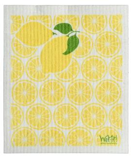 Wet-It Lemons Swedish Dishcloth