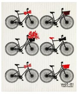 Wet-It Bikes Swedish Dishcloth