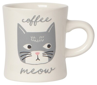 Now Designs Diner Mug - Cats Meow