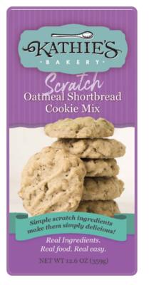 Kathie's Bakery Scratch Oatmeal Shortbread Mix