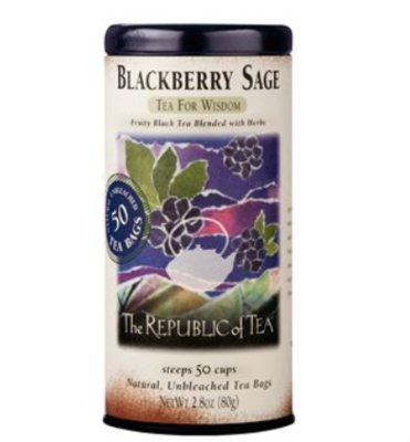 The Republic of Tea - Blackberry Sage Black