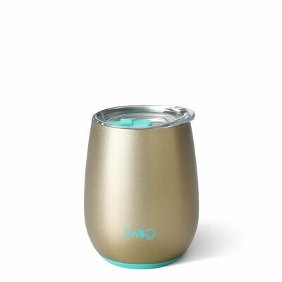 Swig Insulated Stemless Wine - Champagne