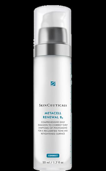 METACELL RENEWAL B3 Umfassende Emulsion für jeden Tag, um das Erscheinungsbild früher lichtbedingter Hautalterung zu verbessern