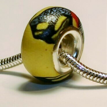 Tiger Swallowtail Butterfly Bead