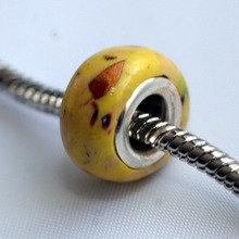 Little Yellow Sulphur Butterfly Bead
