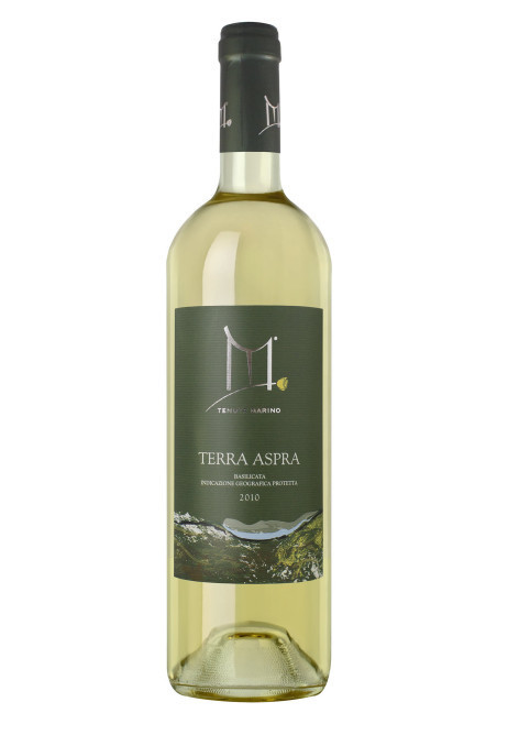 Terra Aspra 2011 Rosa Gialla - Vino bianco Aglianico - IGP Basilicata - 6 bottiglie da 750 ml vino bianco aglianico