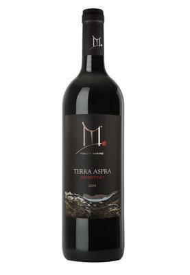 Terra Aspra 2009 Etichetta Nera - Vino rosso Primitivo - DOP Basilicata - 6 bottiglie da 750 ml