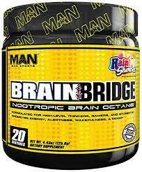 Man Sports Brain Bridge Powder