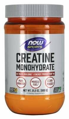 NOW Foods Creatine Monohydrate Pure Powder