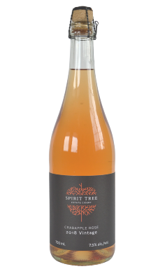 Crabapple Rose Cider, Estate