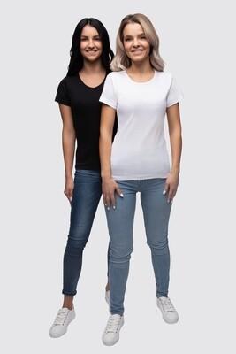 T-Shirt Efia V-Ausschnitt
