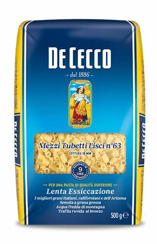 De Cecco Mezzi tubetti 500g