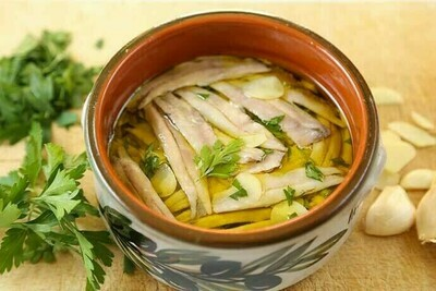 Marinated Anchovies 100g