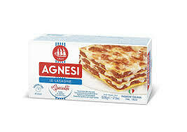 Agnesi durum wheat Lasagne  500g