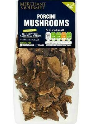 Dried Porcini mushrooms  30g