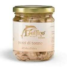 Delfino Tuna pieces e.v.o. 200ml