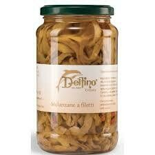 Delfino sliced aubergines in oil 314ml