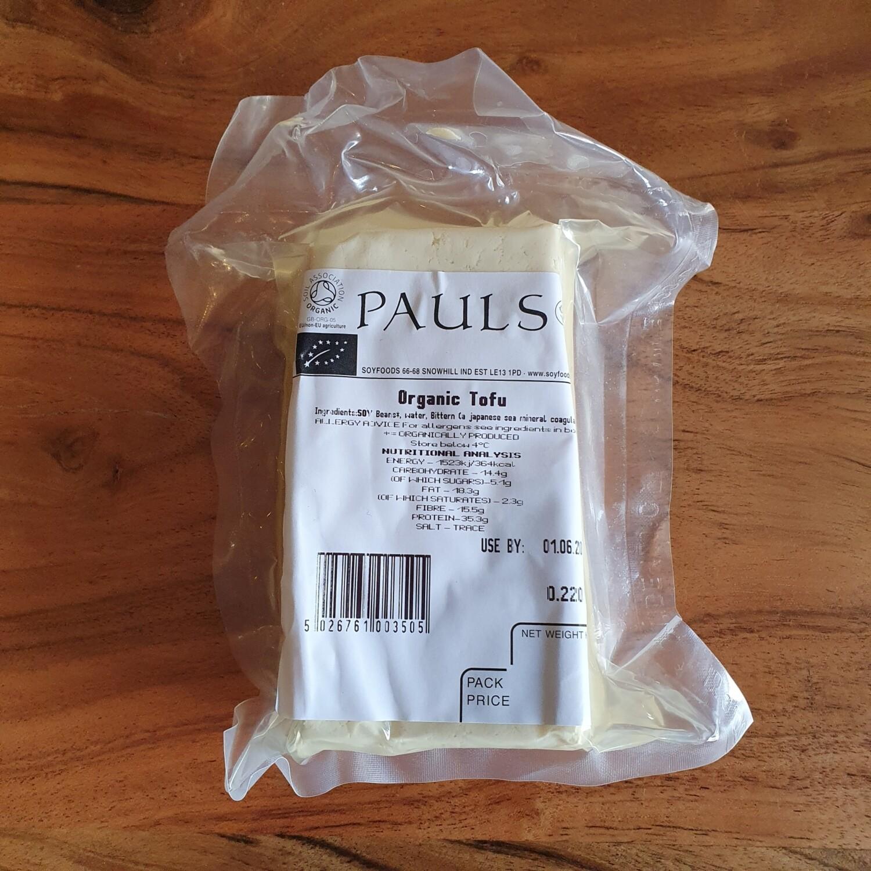 Paul's Organic Tofu 220g